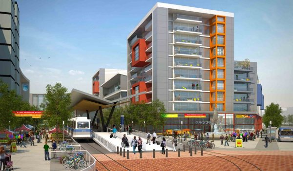 urban development rendering