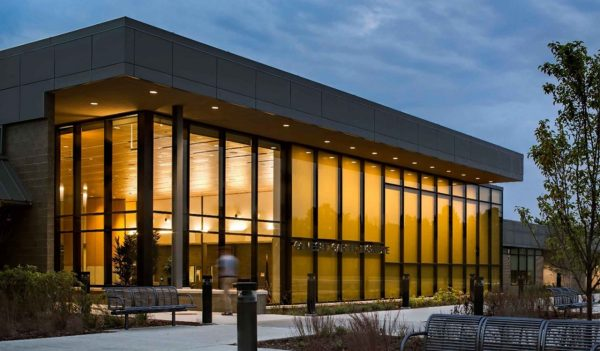 The Genesee Career Institute near Flint, Michigan, is a 113,000-square-foot facility with next-gen learning spaces.