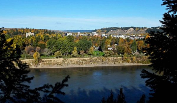 City of Prince George - river view