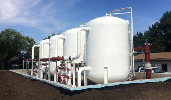 granular activated carbon treatment system