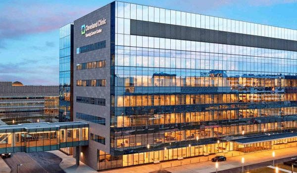 Working with the Cleveland Clinic, a design-savvy healthcare client