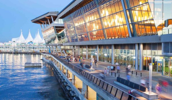 Vancouver Convention Centre waterfront