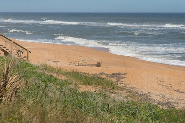 Flagler Beach suffered beach access damage, enormous sand loss and severe erosion.