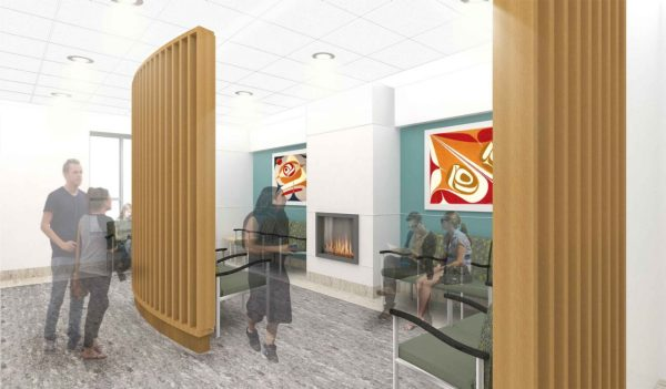 Indigenous healthcare facility rendering