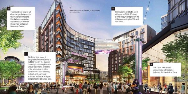 mixed-use concept for Coors Field