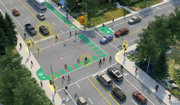 intersection rendering for autonomous driving