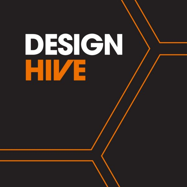 Logo for Design Hive podcast