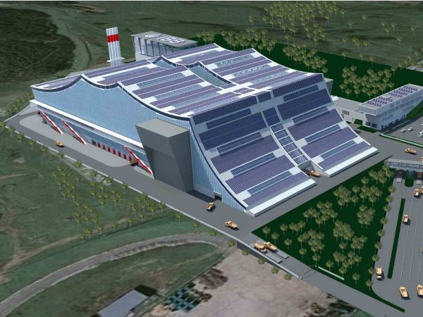Rendering of Instanbul Power Generation Facility