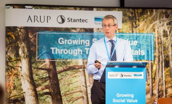 Adrian Johnson, Technical Director, Stantec - Yorkshire Water Sustainability Conference 16/17th July 2019