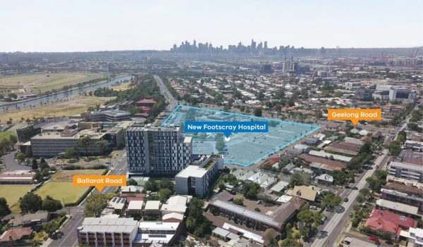 New Footscray hospital in Melbourne