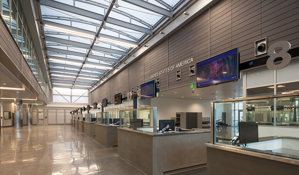 Interior Customs Area